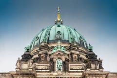 至尊教区和牧师会主持的教堂或者也叫的柏林主教座堂 免版税库存图片