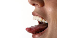 舌头 免版税库存照片