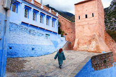 舍夫沙万麦地那,摩洛哥 库存图片