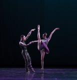舒展古典芭蕾` Austen汇集` 免版税库存照片