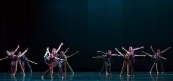 舒展古典芭蕾` Austen汇集` 库存图片