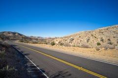 舒展被放弃的高速公路 图库摄影