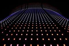 舒展LED光 向量例证