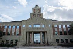 舒格兰政府大厦在舒格兰,TX 免版税库存照片