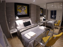 舒适公寓在格但斯克的中心 图库摄影