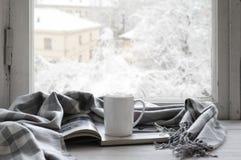 舒适冬天静物画 库存照片