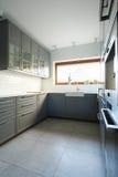 舒适厨房传统风格  免版税图库摄影