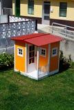 舒适微小的房子 免版税库存图片