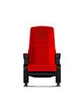 舒适的电影椅子 免版税库存图片