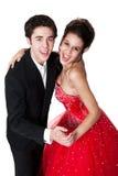 舞厅夫妇跳舞 免版税库存图片