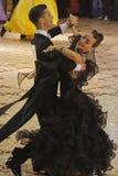 舞厅比赛舞蹈赢利地区 免版税图库摄影