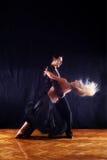 舞厅舞蹈演员 免版税库存照片