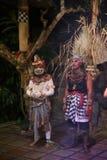 猴舞叫的Kecak舞蹈 库存图片