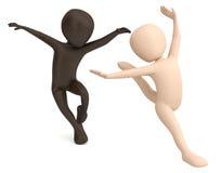 舞蹈。 免版税库存图片