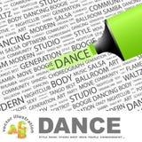 舞蹈。 向量例证