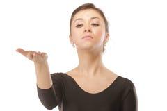 舞蹈严重教师 免版税图库摄影