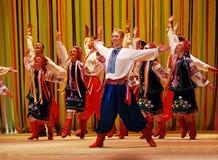 舞蹈乌克兰语 免版税库存照片