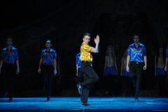 舞蹈冠军告别---爱尔兰全国舞蹈踢踏舞 库存图片