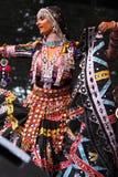 舞蹈印地安人 免版税库存图片