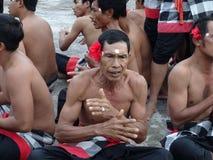 舞蹈印度尼西亚传统 免版税库存照片