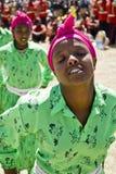 舞蹈埃赛俄比亚的执行的妇女 免版税库存照片
