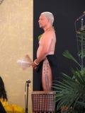 舞蹈夏威夷领导先锋马戏团 免版税库存图片