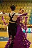 舞蹈夫妇 库存图片