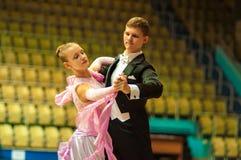 舞蹈夫妇 免版税库存图片