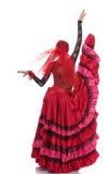 舞蹈姿势 免版税库存照片
