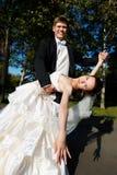 舞蹈婚礼 图库摄影