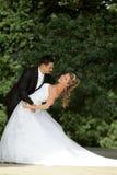 舞蹈婚礼 免版税库存照片