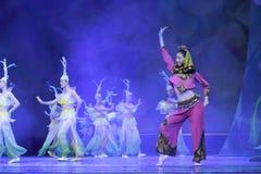 舞蹈家跳minnan魅力 图库摄影