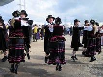 舞蹈家,立陶宛 库存照片