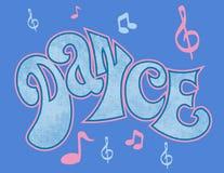 舞蹈徽标 免版税库存图片