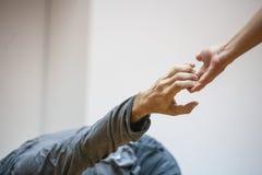 舞蹈手 免版税库存图片
