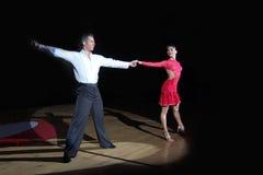 舞蹈拉丁 库存图片