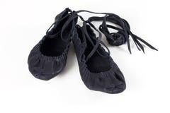 舞蹈拖鞋 库存照片