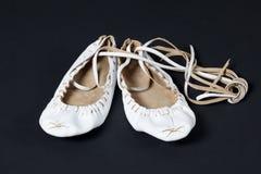 舞蹈拖鞋 免版税库存图片