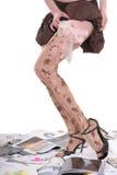 舞蹈杂志 图库摄影