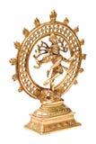 舞蹈查出阁下nataraja shiva雕象 库存照片