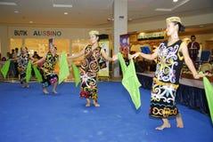 舞蹈民间传说马来西亚人 图库摄影