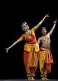 舞蹈民间印地安人 免版税库存照片