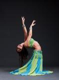 舞蹈演员东方人 库存图片