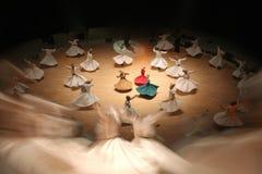 舞蹈演员伊斯兰教苦行僧 库存图片