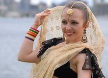 舞蹈演员俄语 免版税库存照片