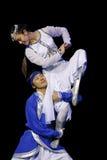 舞蹈演员内蒙古 库存照片
