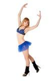 舞蹈演员去 免版税库存照片
