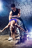 舞蹈演员夫妇 免版税库存图片