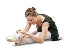 舞蹈演员女性 免版税图库摄影