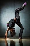 舞蹈演员妇女年轻人 免版税库存照片